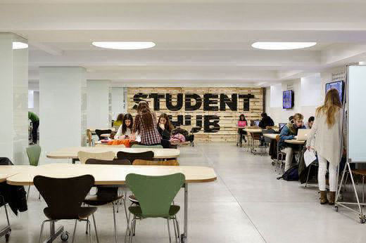 Université IE - Campus de Madrid - Student Hub