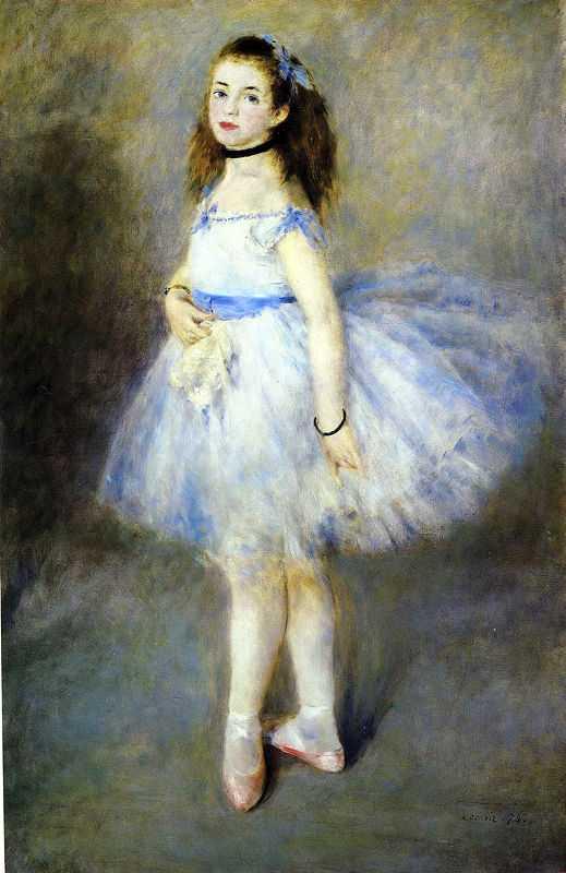 'The Dancer' by Pierre-August Renoir, 1874