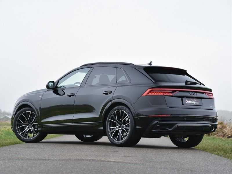 Audi Q8 50TDI 286pk Quattro S-Line Black Optic Lucht RS-zetels B&O High-end Alcant.Hemel TV Head-Up Standk ALLE OPTIES! afbeelding 7