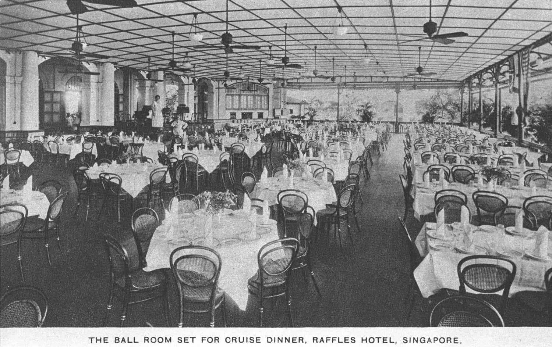 Raffles Hotel Ballroom, 1900s
