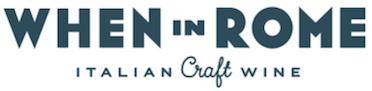 When in Rome - Italian Craft Wine