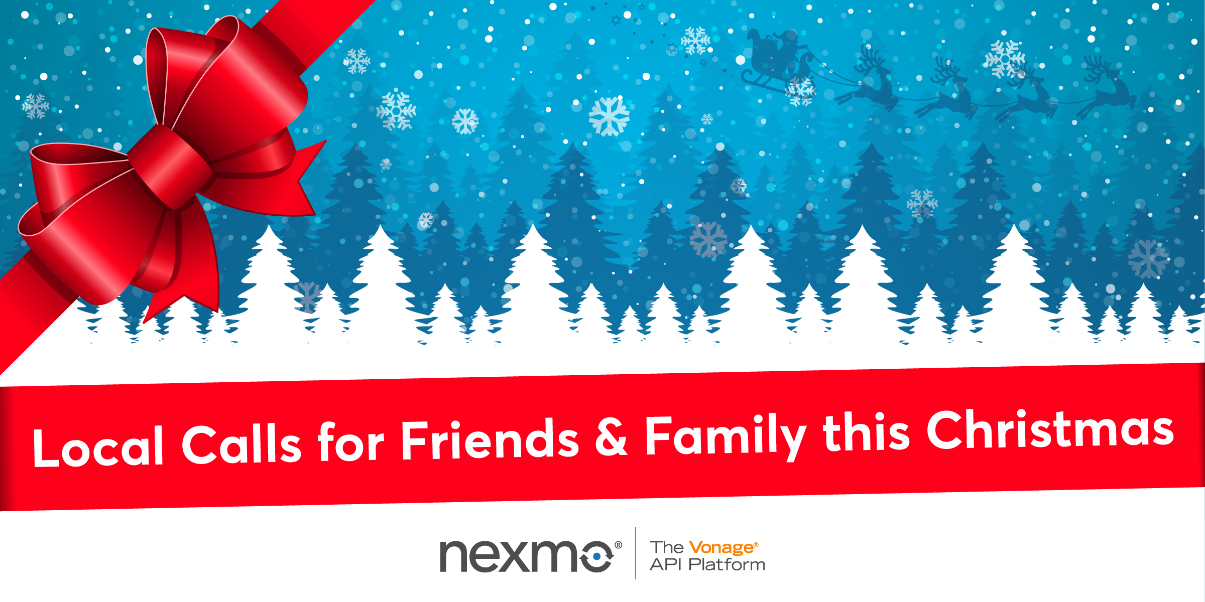 Local Calls for Friends and Family this Christmas with Nexmo Virtual Numbers and Call Forwarding
