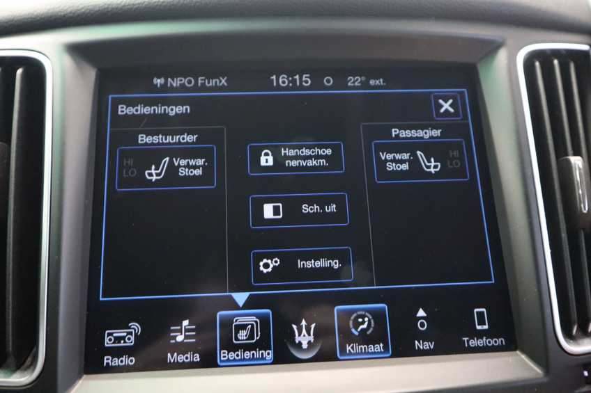 """Maserati Levante 3.0 V6 D AWD STARTECH UNIEK! Panoramadak Diamond Leder Xenon 21""""LM 275 PK! *tot 24 maanden garantie (*vraag naar de voorwaarden) afbeelding 14"""