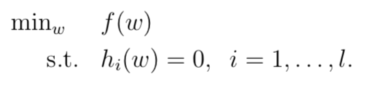 拉格朗日乘子法