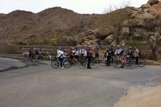 Victor Valley Bicycle Club (AKA Victor Valley Velo, AKA V3) B ride