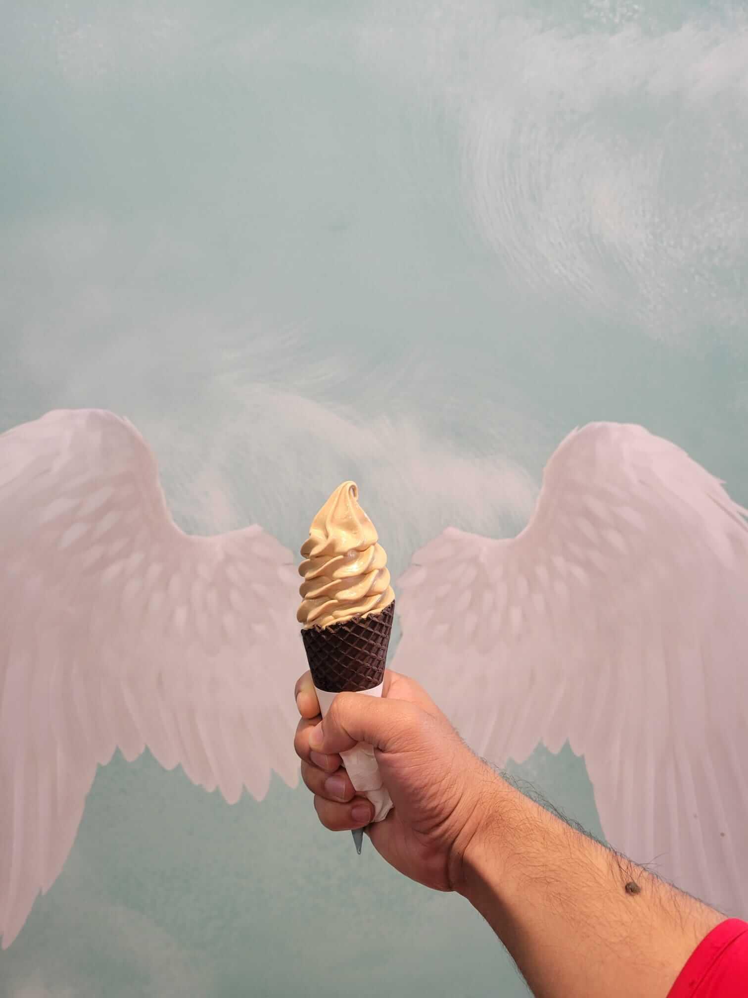 Ice-cream at Aqua S