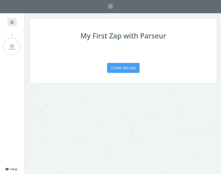 My First Zap with Parseur