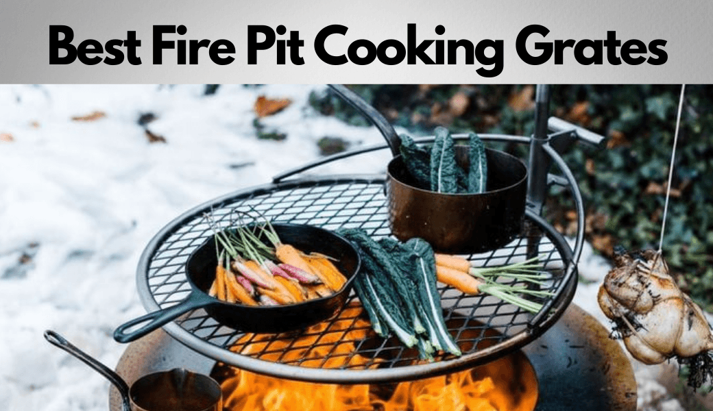 Best Fire Pit Cooking Grates:, Everything You Need To Know, (2021 Review) cover image