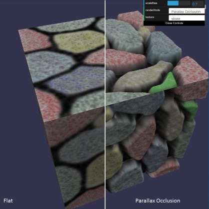 parallax mapping example