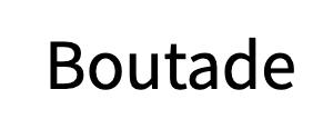 Boutade logo