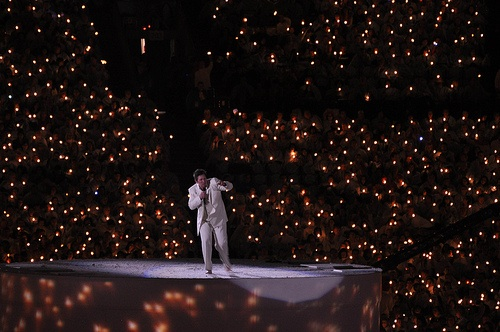 KD Lang sure did Own The Podium with her rendition of Leonard Cohen's Hallelujiah
