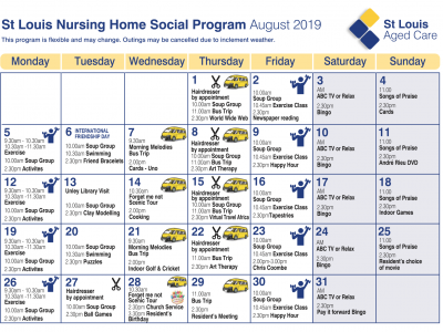 Nursing Home Aug Program