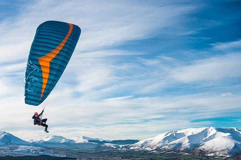 Griffin – Light mini-paraglider (EN C) | Gin Gliders