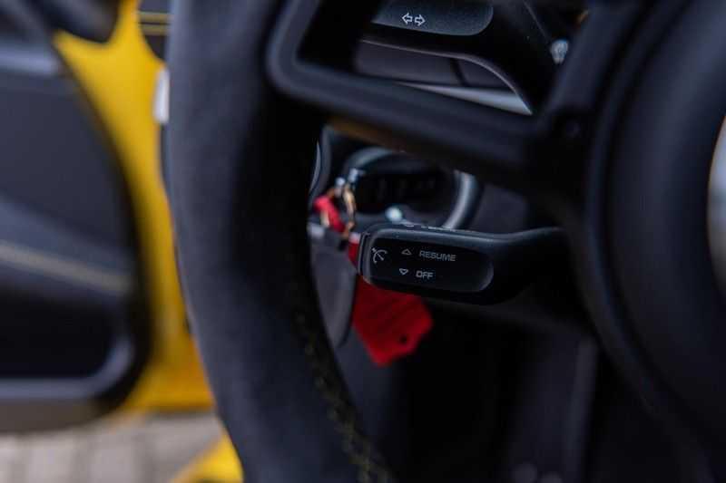 Porsche 718 Cayman GT4 4.0, 420 PK, RacingGelb, Sport/Chrono, Camera, 18/Way, 2900 KM, 2020, BTW!! afbeelding 18