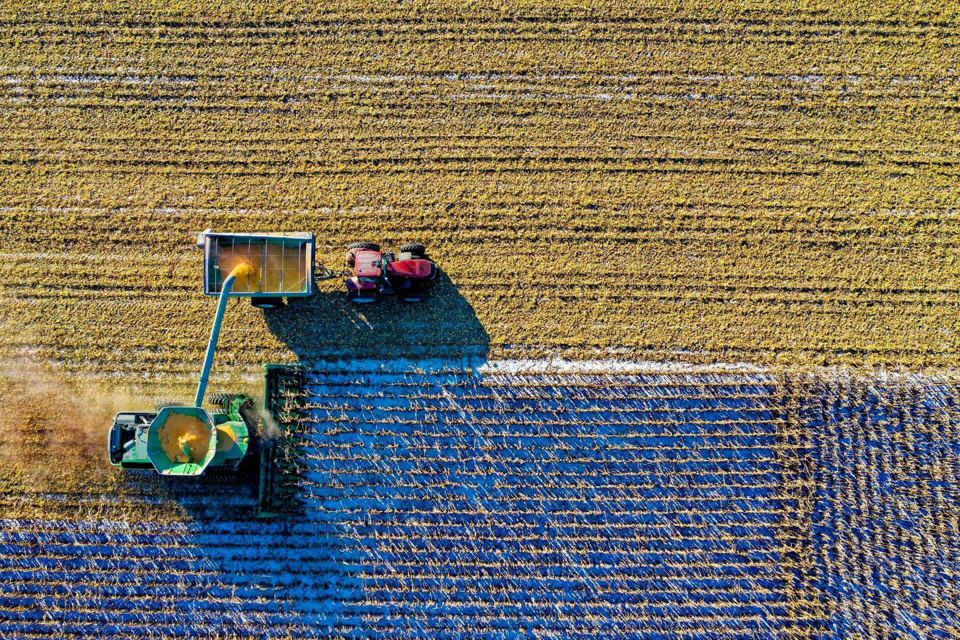 THE BENEFITS OF DRONES TO THE AGRICULTURAL INDUSTRY cover image