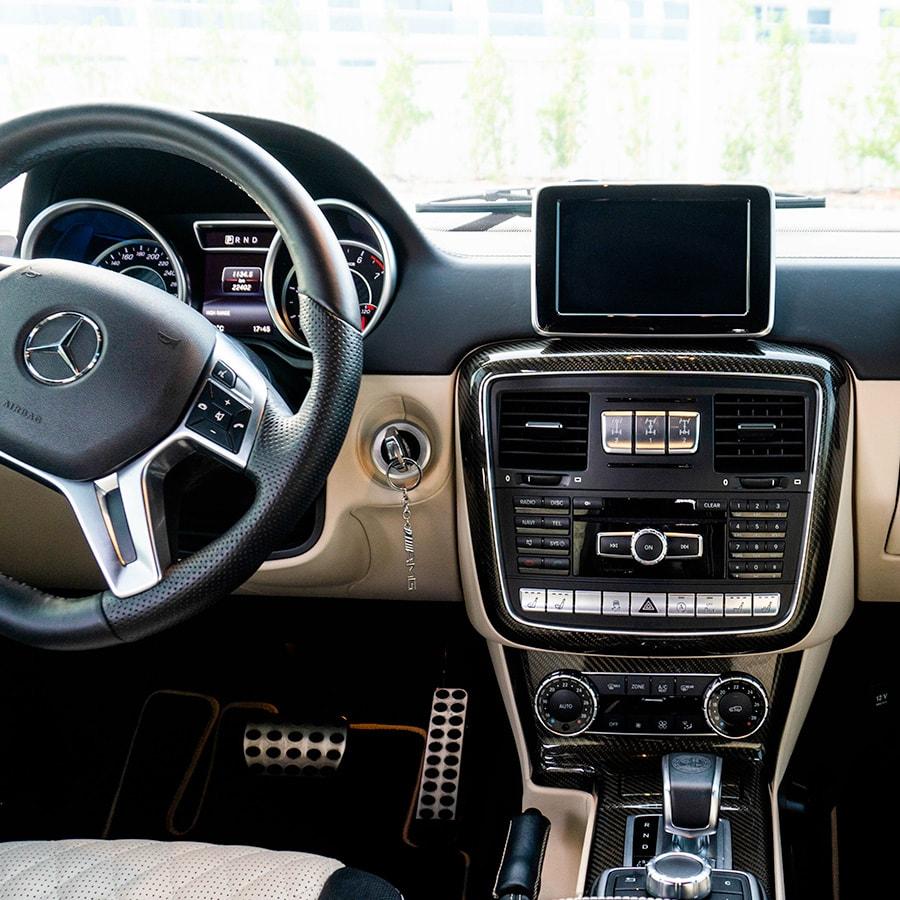 mercedes g63 interiors