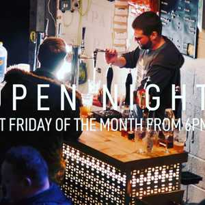 Join us this Friday for our November Open Night. We've got tunes from @offthahook2 and tasty dishes from @food_italianstreetfood. Drinks £3 all round 🍻🍺