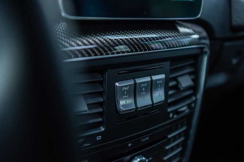 Mercedes-Benz G-Klasse 63 AMG, 571 PK, Full/Black Optiek, Schuif/-Kanteldak, TV, Harman/Kardon, Designo leder, Distronic, 57DKM!!! afbeelding 10