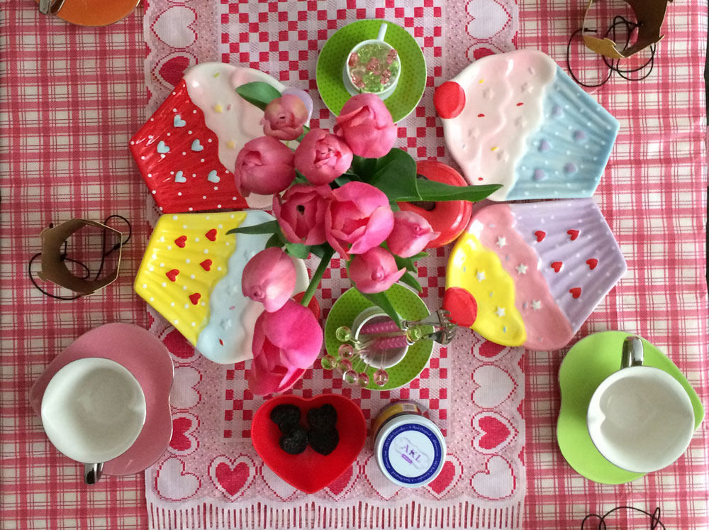 Vegan tea party