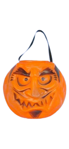 Character Pumpkin Devil Face photo