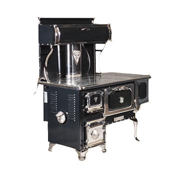 Poêle Margin stoves Cuisinière Margin Gem 2001 avec réchaud et réservoir à eau chaude