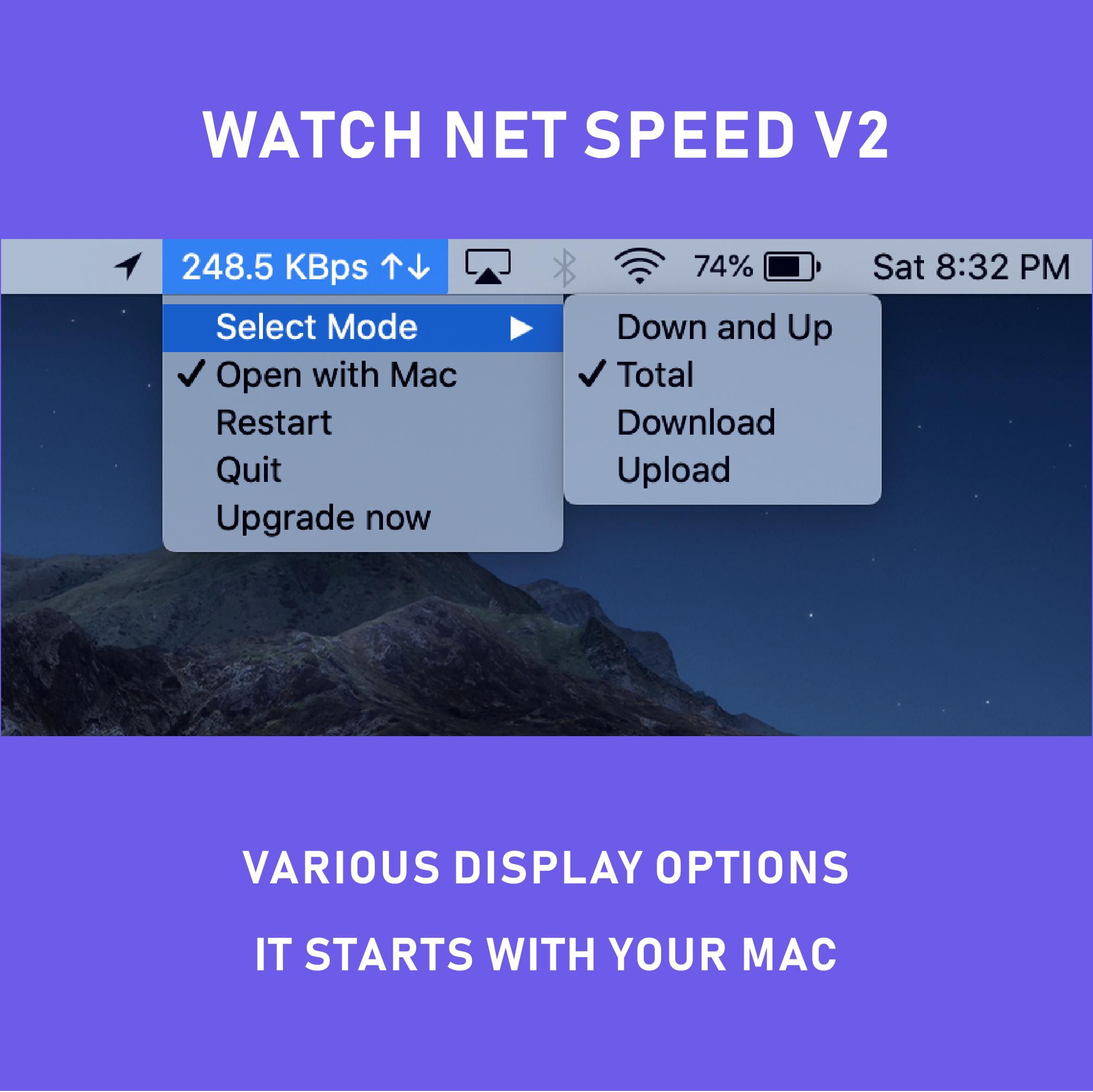 Mac Bandwidth Monitor