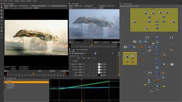 Natron free video editor