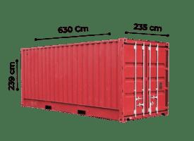 TrawlFeet - Container 20 Feet >
