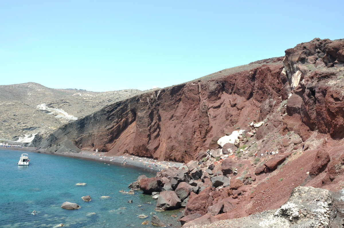 Santorini Red Beach and Akrotiri