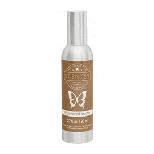 Weathered Leather Room Spray