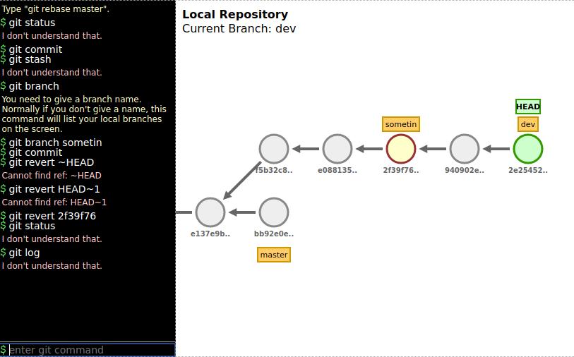 Figure 1: A screenshot of the site