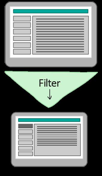 structure et navigation de site mobile