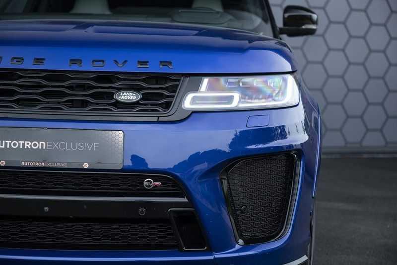 "Land Rover Range Rover Sport P575 SVR Carbon SVR motorkap + Drive Pro Pack + Panoramadak + 22"" + Stoelkoeling + Head-Up + Stuurwielverwarming + Carbon interieur afbeelding 7"