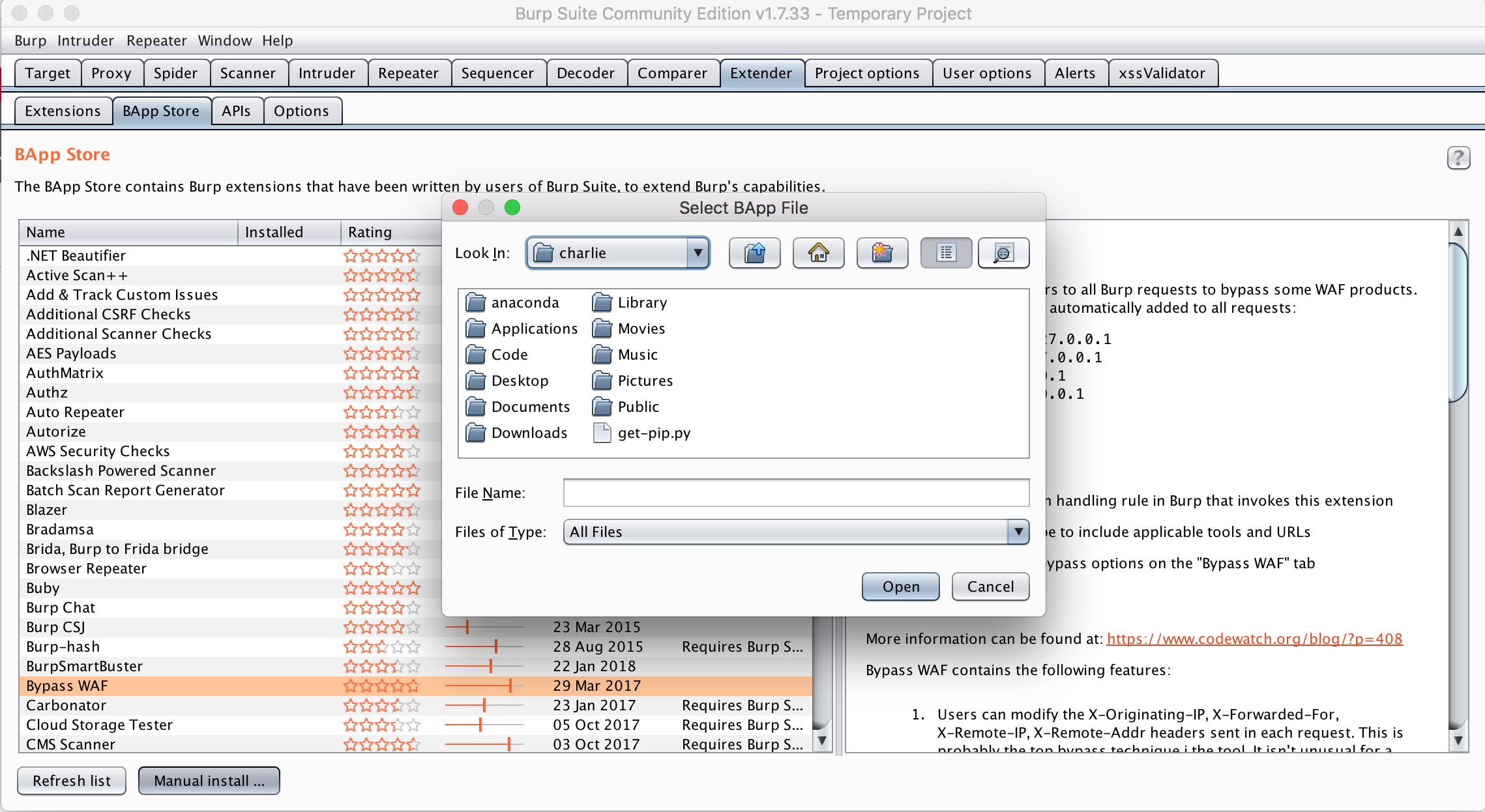 Burp Extensions - Setting up XSS Validator