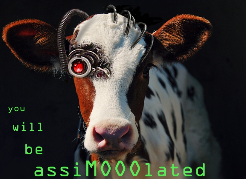 Ansible & Friends: Borg Cow says: You will be assimooolated.