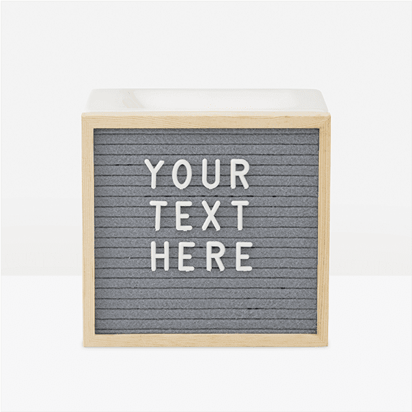 Picture of Letterboard Warmer