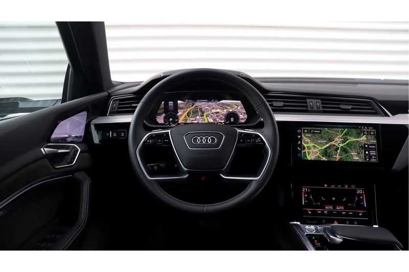 Audi e-tron 55 quattro Advanced S Line excl. BTW Panoramadak, B&O, S Sportstoelen, DAB, Head-Up Display afbeelding 9