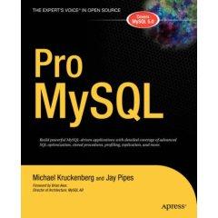 Pro MySQL book cover image