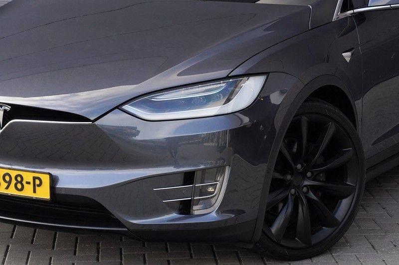 """Tesla Model X 100D Excl. BTW Luchtvering, Autopilot Leer 4% bijt. 22"""" afbeelding 15"""