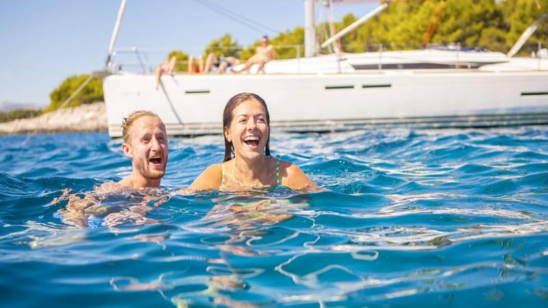 A Quest to the Blue Cave while Sailing Croatia Coastline