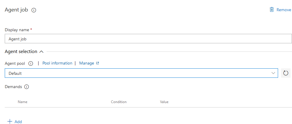 Azure DevOps Release Agent Pool