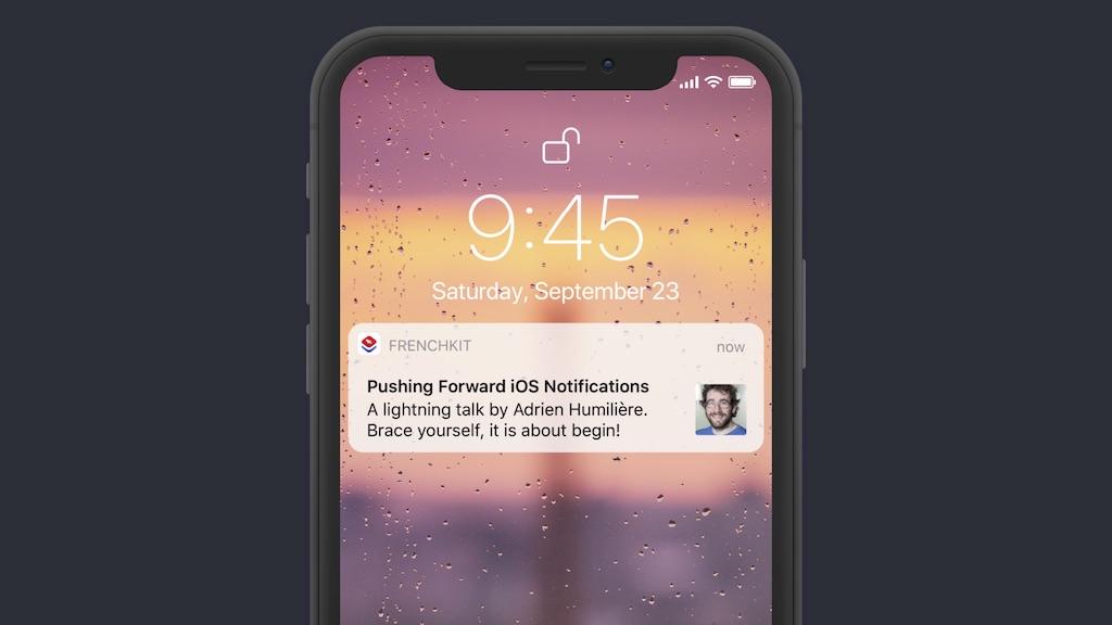 Pushing Forward iOS Notifications