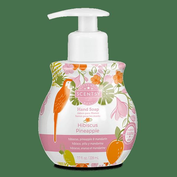 Hibiscus Pineapple Hand Soap