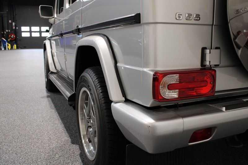 Mercedes-Benz G-Klasse 500 fabrieks 55-uitgev. Youngtimer aut. 7-zits afbeelding 21