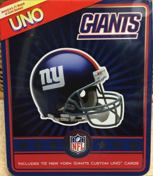 New York Giants Uno (2009)