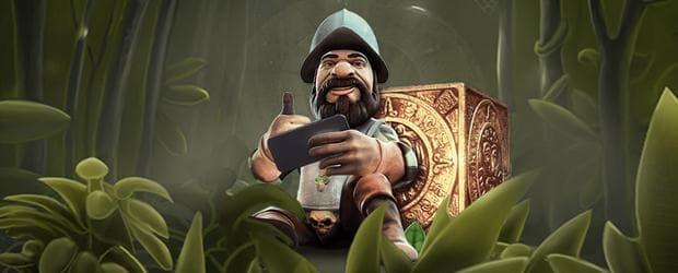 gonzo's quest netent mobil spielen banner