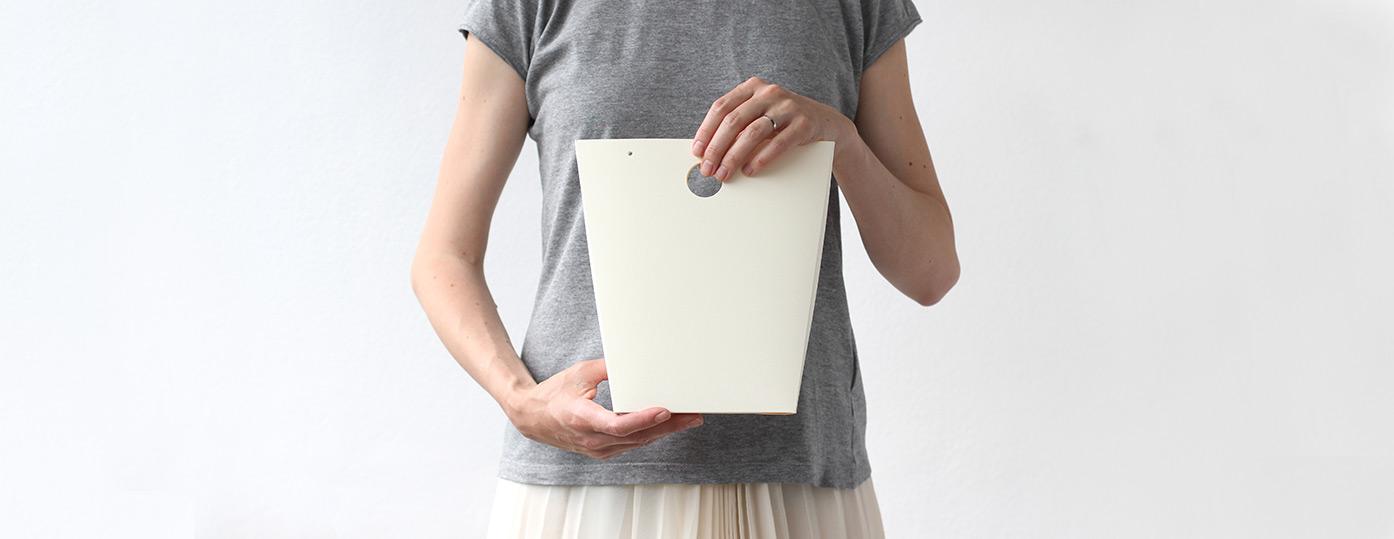 Pevná papírová taška, originální dárkové balení