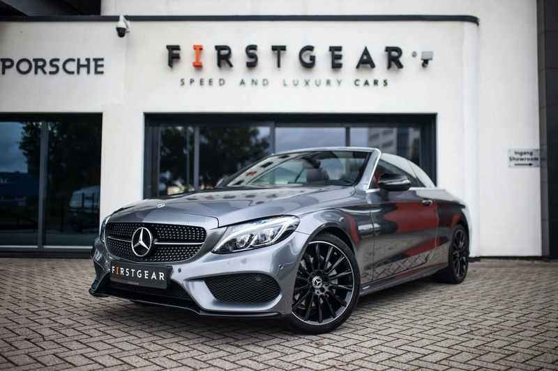 Mercedes-Benz C-Klasse Cabrio 180 Premium *AMG-Line / Airscarf / Keyless Go* afbeelding 1