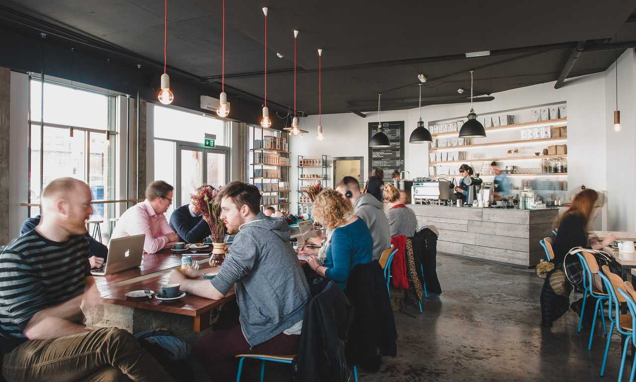Best places to work online in Belfast