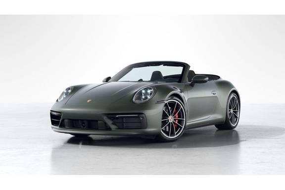 Porsche 911 992 4S Cabrio Unieke Kleurstelling Sport Design Pakket Matrix Carbon 3.0 Carrera 4 S